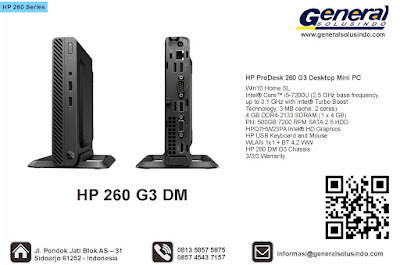 "HP V190 LED 18.5"" HP ProDesk 260 G3 Desktop Mini PC"