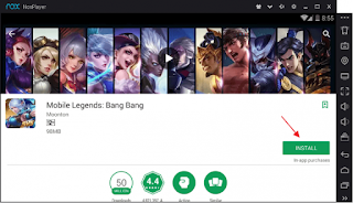 Cara Memainkan Mobile Legends Di PC Atau Laptop