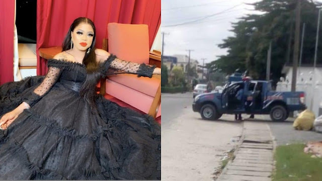 Bobrisky on the run as Police storm his nude birthday party, arrest 5