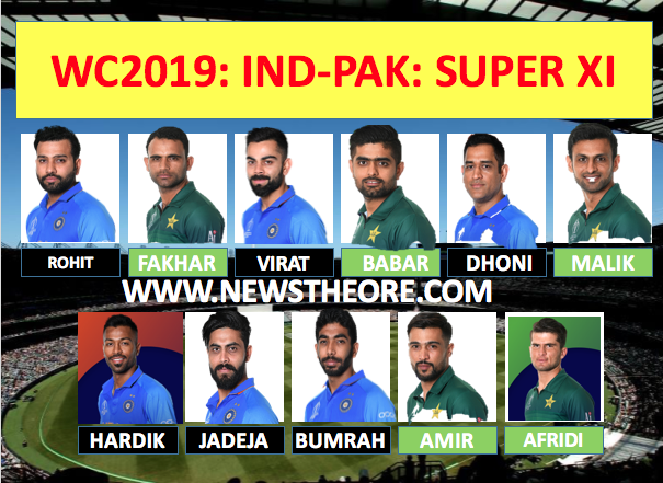 OMG: Dangerous XI player selected from India and Pakistan team of World 2019