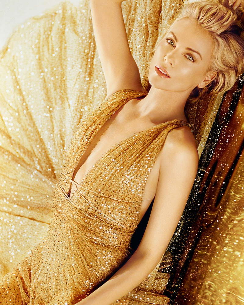Charlize Theron stars in Dior J'adore Perfume 2019 campaign