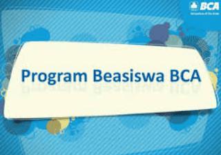 Program Beasiswa Bank BCA PPTI tahun 2018