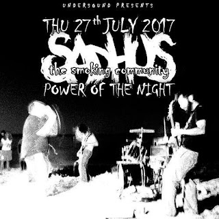 sadhus on power of the night festival 2017