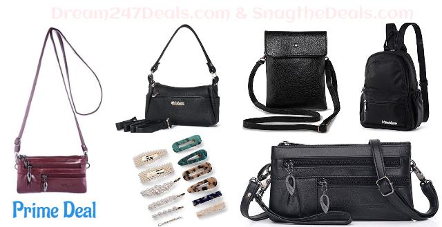 60% OFF Hair clip and Women Crossbody Bag