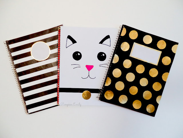 DIY Notebooks for Back To School 2018