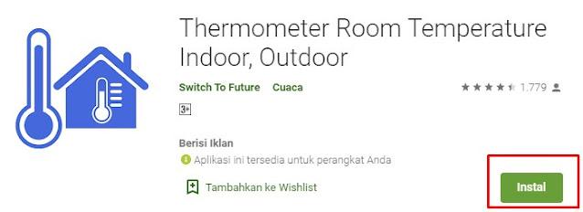 aplikasi pengatur suhu