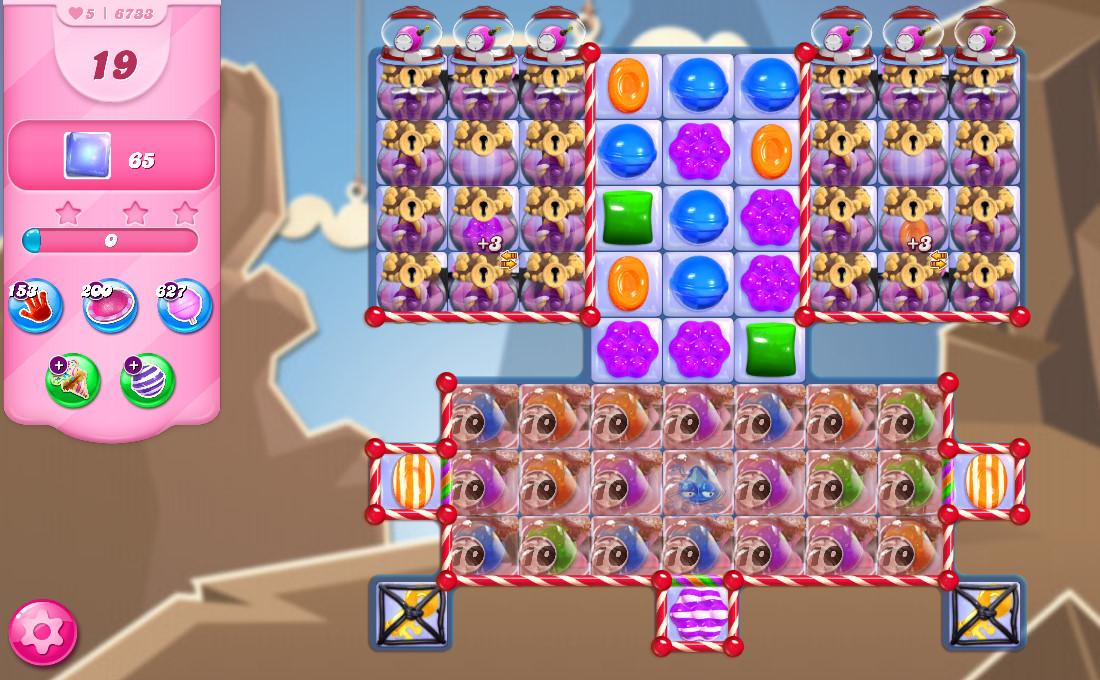 Candy Crush Saga level 6733