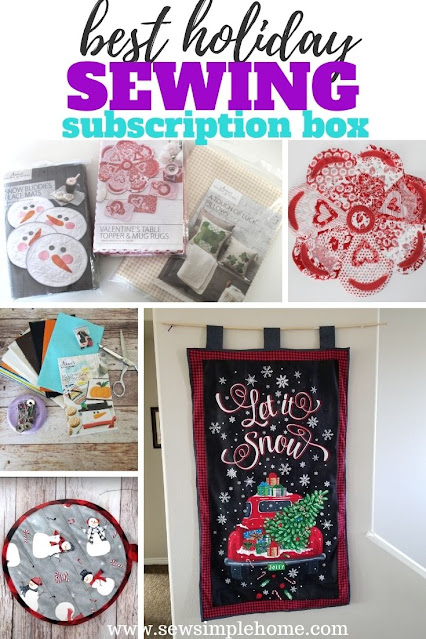 Learn more about the best holiday sewing subscription box from Annie's Crafts.