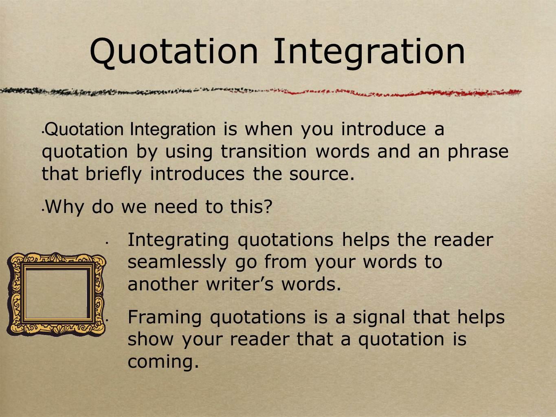English And Esol Lab Workshops Quote Integration Stefanie Johnson