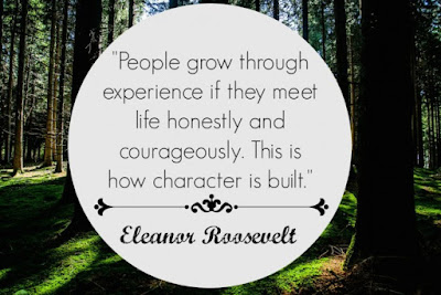 Famous Quotes About Life Changes: people grow though experience if they meet life honestly