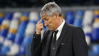 Barcelona Boards not happy with Setien for Barca B promotion snub