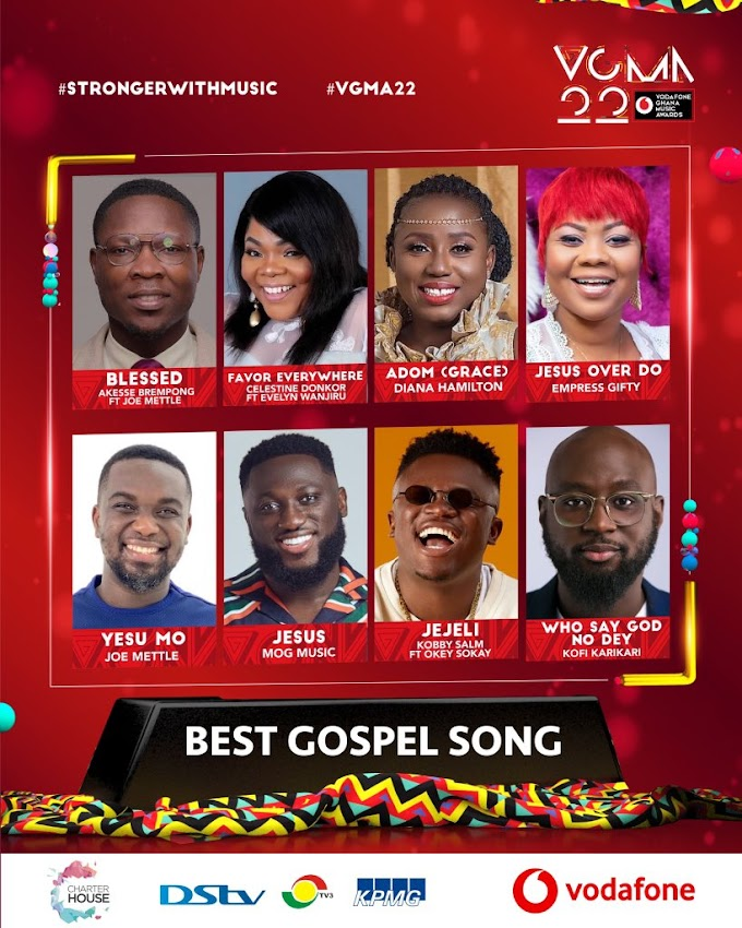 #VGMA22: Here Is The Full List Of Nominees