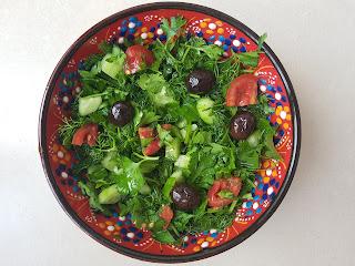 maydanozlu salata