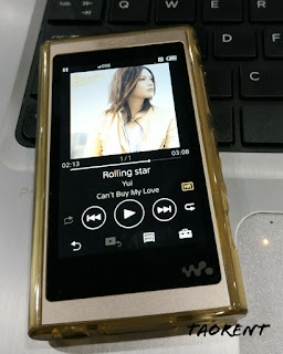 review sony walkman A55 bahasa indonesia