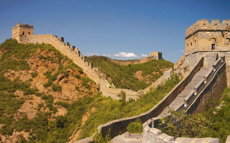 description muraille de chine