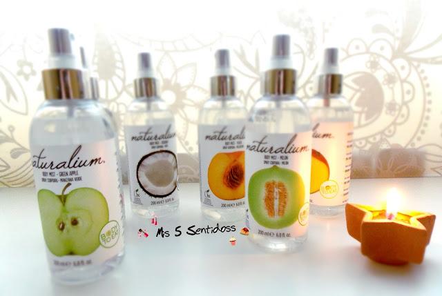 Naturalium Body Mist ¡Refréscate con fruta!