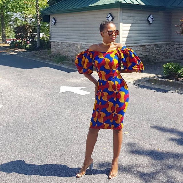 2019 Beautiful Designs of Ankara Short Gown Styles