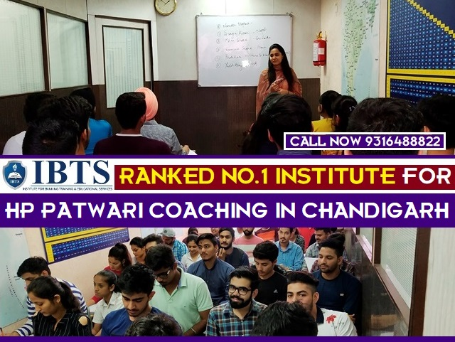 HP Patwari Exam Coaching in Chandigarh