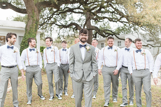 Gruene Estate New Braunfels Texas wedding venue, groomsman photos
