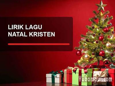 lirik lagu rohani natal kristen