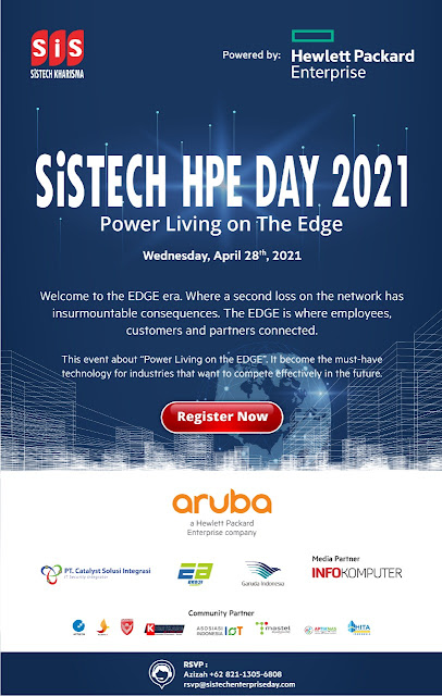 Let's Join Now! Sistech HPE Day 2021