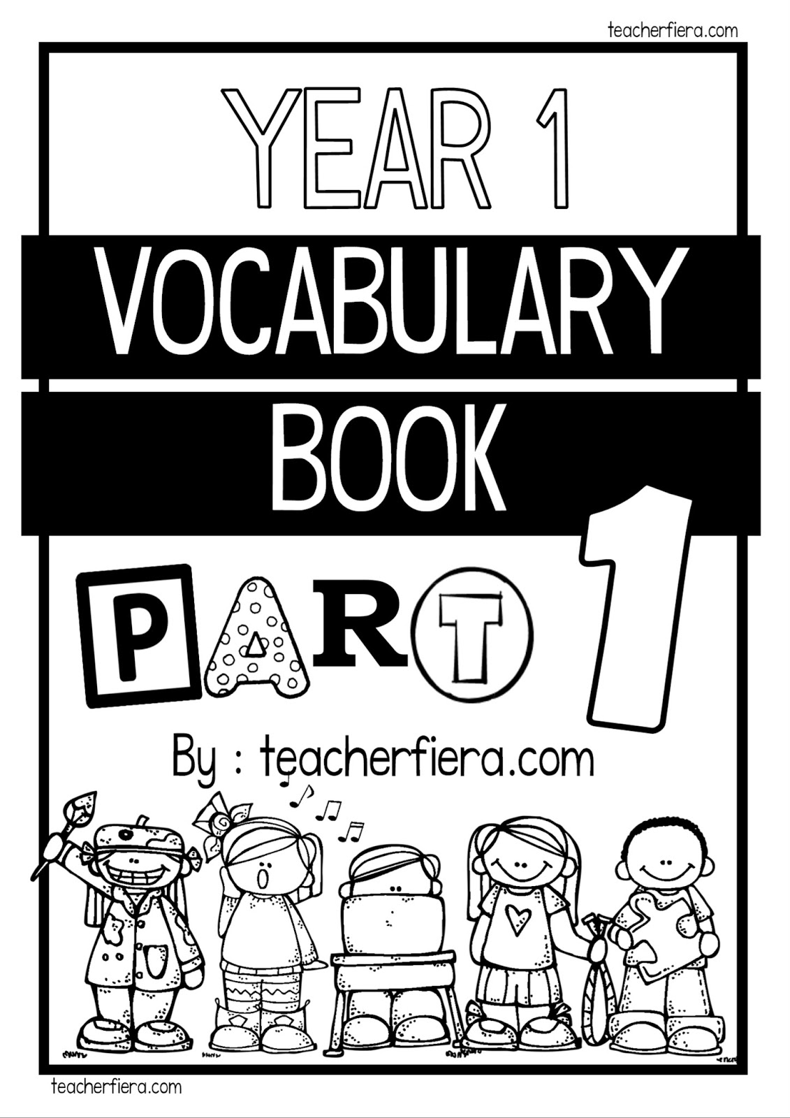 Teacherfiera Year 1 Vocabulary Book Part 1