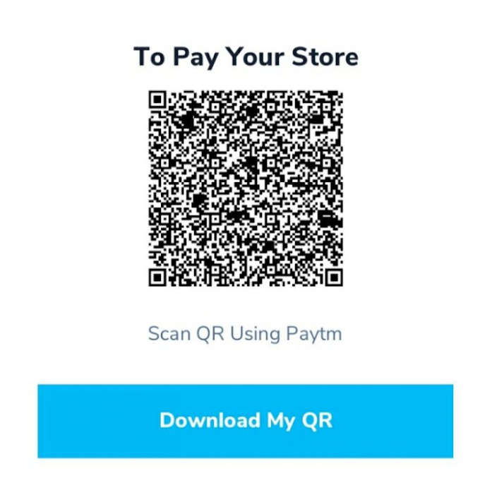 How to Get Free PayTM QR Code - Simple Method
