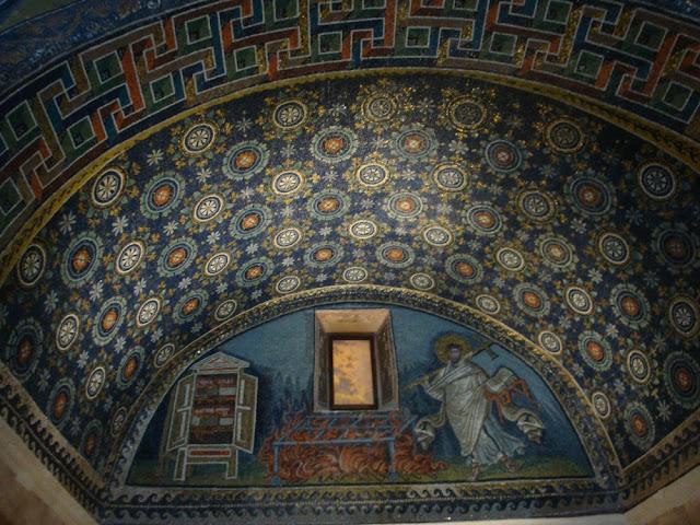 Os mosaicos de Ravenna (Itália) - Mausoléu Gala Placídia
