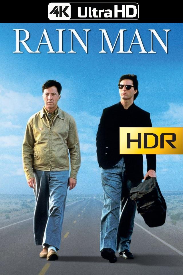 Rain Man: Cuando Los Hermanos Se Encuentran (1988) 4K UHD HDR Web-DL Latino