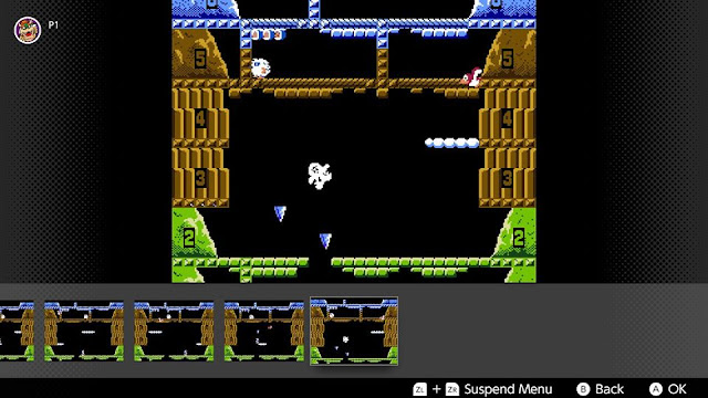 Ice Climber rewind feature Nintendo Switch Online NES games