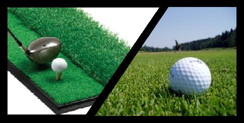 Toronto Golf Reviews Driving Range Mats Vs Grass Tees