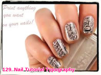 Nail Tutorial Typography