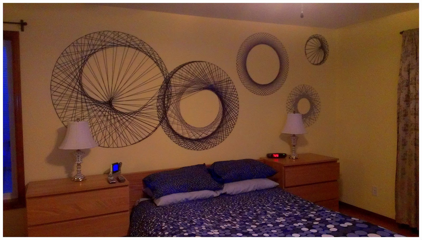 13 Spectacular String Art Wall - DMA Homes | 16724