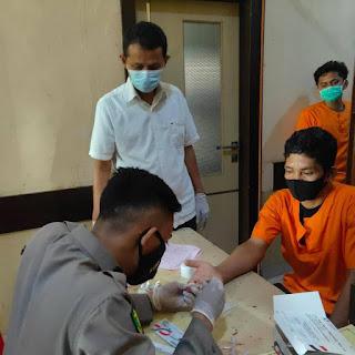 38 Tahanan Jaksa Dan Polres Jalani Rafid Test di Luwu Utara