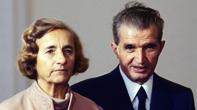 Elena Çavuşesku ve Nikolay Çavuşesku
