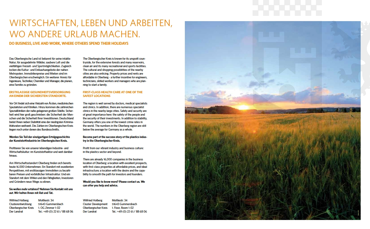 Texte mit der Zielgruppe: Entscheider, business-Kunden, Werbeagentur: Debüser + Bee , Werbetexter Robert Welz. Beide Köln.
