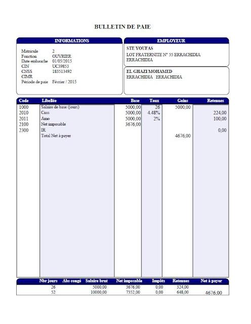Comment remplir l'Etat 9421, fiscalité