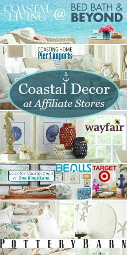 Coastal Decor Online Stores