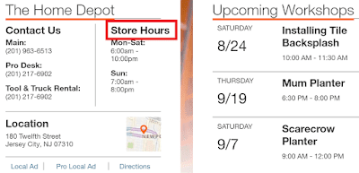 Home Depot Locations Near Me
