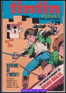 Tintin pocket Sélection, numéro 24, 1974