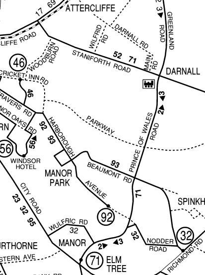 Public Transport Experience: Myopia at Manor : Daftness at