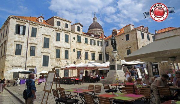 Dubrovnik - Plaza Gundulic