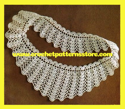 crochet collar,the online pattern store,Pattern Buy Online,Crochet patterns,Buy crochet patterns online,Pattern Stores,