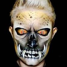 Mens Halloween Face Paint Ideas
