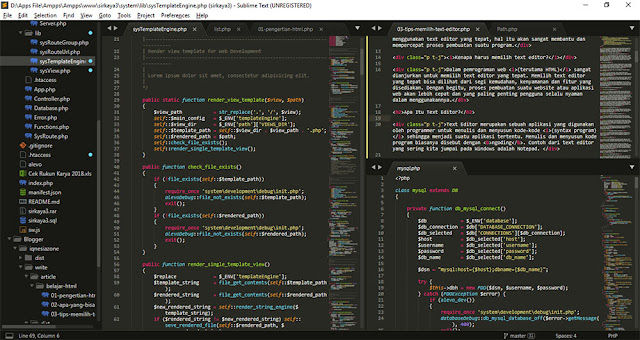 Preview Sublime Text