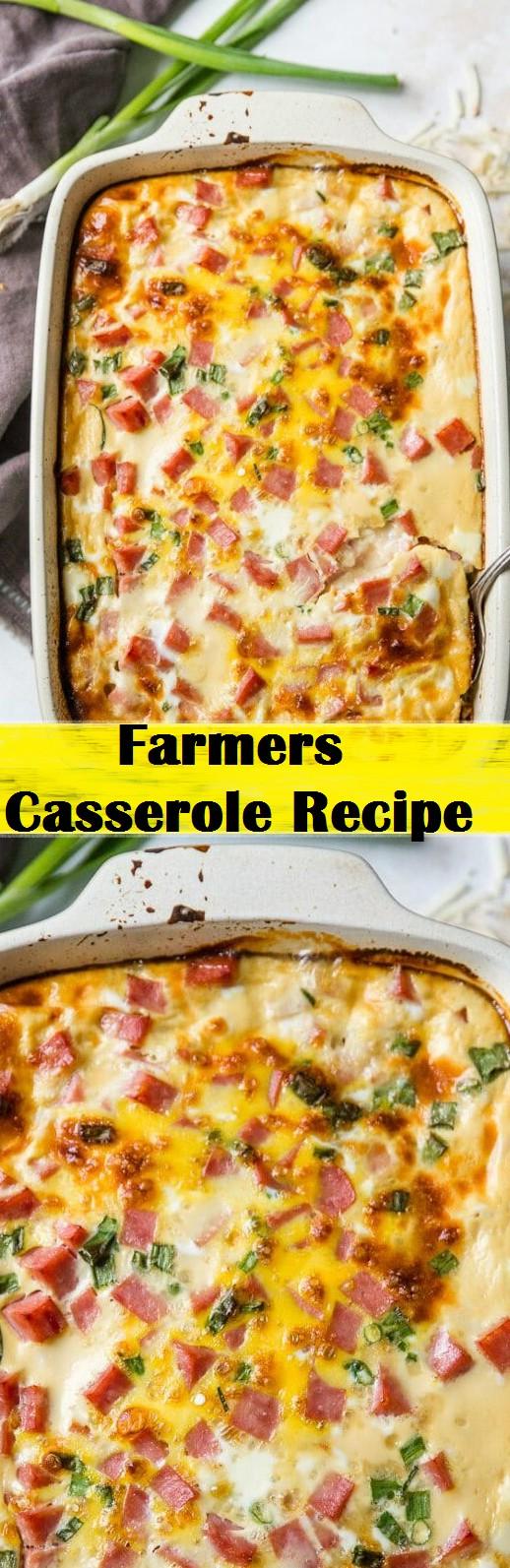 Farmers Casserole Recipe