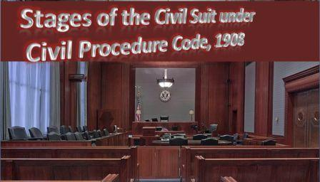 https://www.lawnotes4u.in/2018/11/stage-of-civil-suit-under-CPC-or-procedure-of-civil-suit.html
