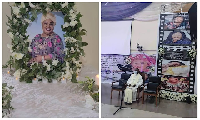Check out more photos from Late Rachel Oniga's Wake-keep service