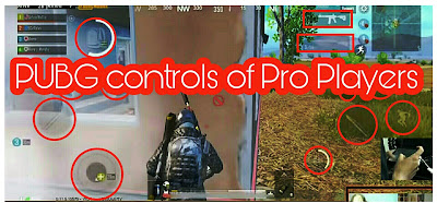 Pro PUBG players control settings