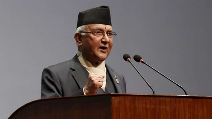 Nepal's PM KP Sharma Oli to address the country arrives to meet President